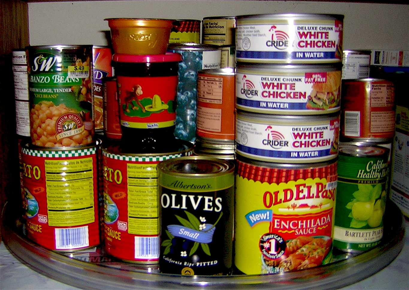 Canned foods dating